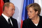 Ar kariautumėte su Rusija, ponia Merkel?