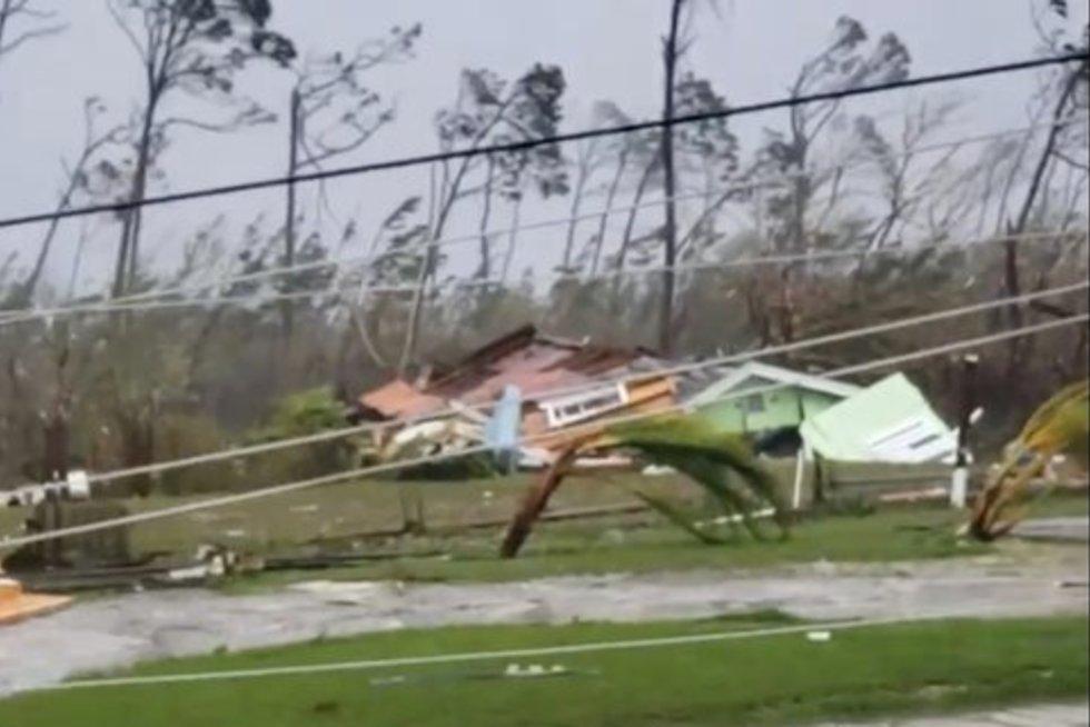 Uragano padariniai (nuotr. SCANPIX)