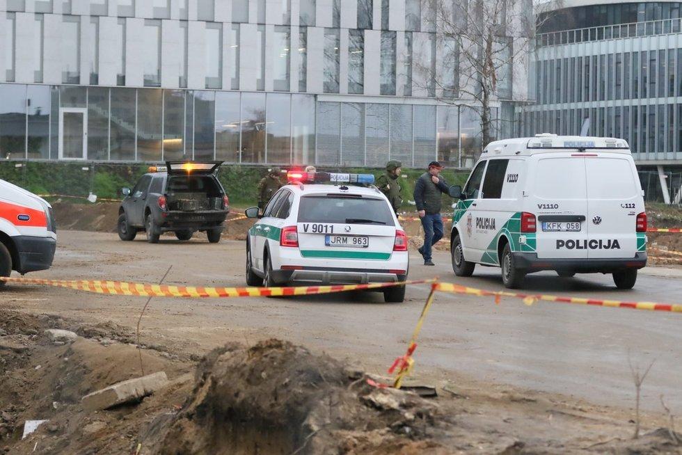 """Sujudimas sostinėje – rado didelę bombą, įvestas planas """"Skydas"""""""