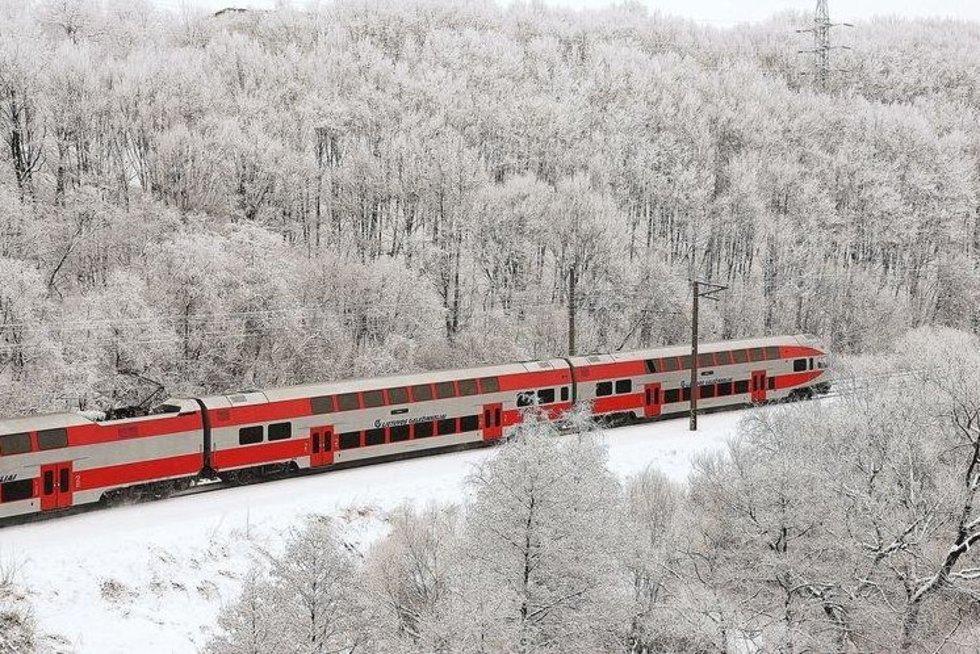 traukinys (Lietuvos geležinkelių nuotr.)