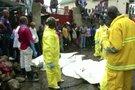 Lėktuvo katastrofa Konge (nuotr. stopkadras)