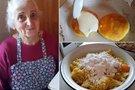 Močiutė parodė, kaip pasigaminti skaniausius žemaičių blynus (Nuotr. Romas and MO)