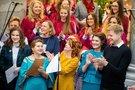 Tarptautinės Kalėdų labdaros mugės atidarymo ceremonijos akimirkos (Irmantas Gelūnas/Fotobankas)
