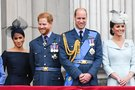 Meghan Markle, princas Harry, princas Williamas ir Kate Middleton (nuotr. SCANPIX)