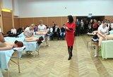 Kaune studentai varžėsi, kas geresnis masažuotojas