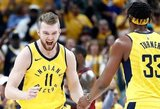 """Domantas Sabonis oficialiai pratęsė sutartį su """"Pacers"""""""