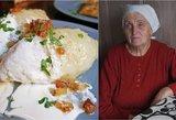 Firminis močiutės receptas – neatsivalgomi tarkuotų bulvių cepelinai