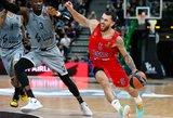 Dar viena ASVEL sensacija – patiesė CSKA žvaigždes