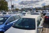 Analitikai: automobilių mokestis išjudins prekybą prieš Naujuosius