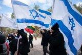 Lietuva atiduoda pagarbą žydų genocido aukoms