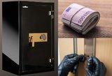 Jonavos rajone pavogtas seifas su įspūdinga pinigų suma