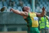 Rekordus gerinantis Andrius Gudžius: treniruotėse metu per 70 metrų