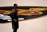 """LeBronas Jamesas nepratęsė sutarties su """"Cavaliers"""""""