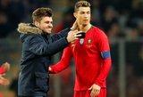 Slogus Cristiano Ronaldo vakaras: nesužavėjęs sirgaliaus bučinys ir triuškinanti nesėkmė