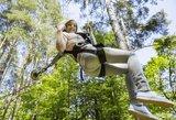 Kur pasikrauti adrenalino vasarą – TOP 5 nuotykių parkai Lietuvoje