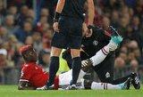 """Paulis Pogba ilgai negalės padėti """"Manchester United"""""""