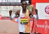 Londono maratone triumfavo pasaulio rekordininkas