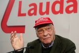 Mirė F-1 legenda Niki Lauda
