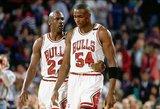 Jordanas išrinko geriausią visų laikų NBA penketuką: nė vienas nebežaidžia