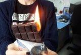 """Rusus ištiko """"degančio šokolado"""" isterija: negalėjo patikėti išvydę liepsnojantį skanėstą"""