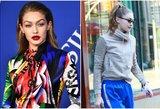 Su Zaynu išsiskyrusi manekenė Hadid – neatpažįstama: liūdesio nepaslepia net akiniai