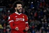"""Keturis įvarčius įmušęs """"Liverpool"""" egiptietis sudaužė varžovus"""