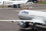 """""""Lufthansa"""" atšaukė antradienio skrydį iš Vilniaus į Frankfurtą"""