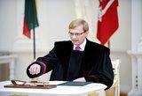Pasiūlymas: Apeliaciniam teismui vadovaus buvęs generalinis prokuroras Algimantas Valantinas?