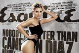 """C. Diaz žurnale """"Esquire"""" pasirodė šlapiais marškinėliais ir atidengė laibas it gazelės kojas"""