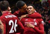 """""""Premier"""" lygoje neįtikėtiną pergalę paskutinę sekundę iškovojo  """"Liverpool"""""""