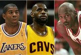 TOP 5: įspūdingiausi žvaigždžių pasirodymai NBA finalų istorijoje