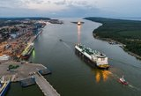 Į Lietuvą atplaukė neeilinis krovinys – pirmosios dujos iš JAV