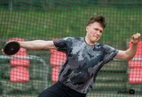 Virgilijaus Aleknos sūnui Europos jaunimo čempionate sublizgėti nepavyko