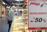 Į parduotuvę žengti nesinorės: per lietuvių kišenes kirs skaudžiausiu būdu