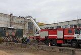 Alytaus meras apie gaisrą įmonėje: kol neatkelsime tų prakeiktų lubų, reikalai nepasikeis