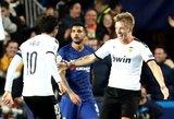 """Čempionų lyga: """"Valencia"""" išplėšė svarbias lygiąsias prieš """"Chelsea"""""""