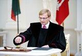 A. Valantinas įtiko Seimui: gali būti skiriamas Apeliacinio teismo pirmininku