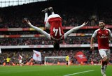 """Anglijos futbolo čempionate – įspūdingas P.Aubameyango """"suktukas"""" ore po įvarčio"""