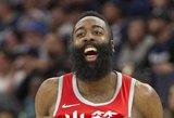 Hardenas per naktį pasiekė du rekordus: vienas – gėdingas, kitas – Kobe Bryanto