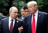 D. Trumpo ir V. Putino susitikimas: JAV prezidentas atskleidė, ar tikisi didelių pokyčių