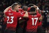 """Anglijos FA taurė: į kitą etapą keliauja """"Manchester United"""" ir """"Chelsea"""""""