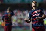 """Luiso Suarezo """"hat-trickas"""" padovanojo """"Barcelonai"""" čempionų titulą"""