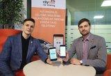 """""""CityBee"""" ir """"Taxify"""" nauja paslauga – viena pirmųjų pasaulyje"""
