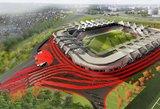 Nacionalinio stadiono statytojai nebereikalaus Vyriausybės iš anksto susimokėti