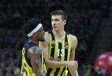 """Eurolygoje – """"Fenerbahce"""", """"Galatasaray"""" ir """"Panathinaikos"""" pergalės"""