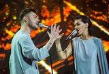 """Užkliuvo """"Eurovizijos"""" dalyvio Tado Rimgailos įvaizdis: turgaus prekeivių kelnės"""