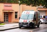 Žiauri avarija Vilkaviškyje: nukentėjęs paauglys išgabentas į Kauno klinikas