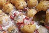 Receptas tiesiai iš kaimo: šviežios bulvytės su burnoje tirpstančiu padažiuku