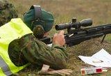 Adrenalino kupina snaiperio profesija ir šalti nervai, kuriuos privaloma išlaikyti