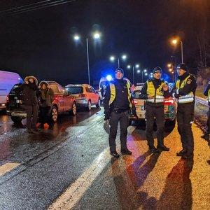 Masinė avarija Vilniuje: susidūrė šeši automobiliai, vienas vairuotojas visiškai girtas